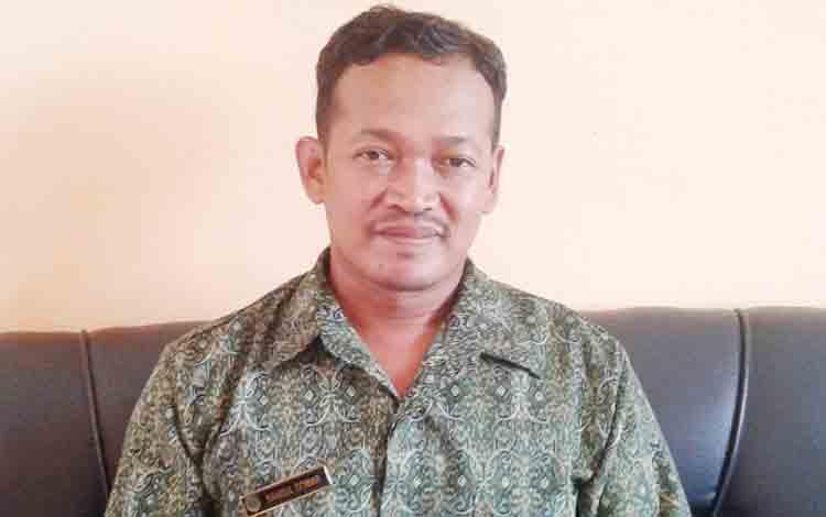 Kepala Koordinator Terminal Natai Suka Syamsul Qomar