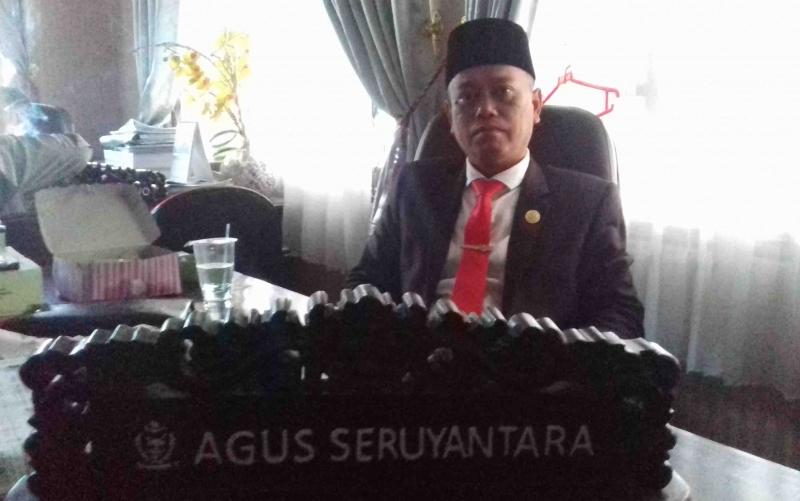 Anggota Komisi I DPRD Kotim, Agus Seruyantara.