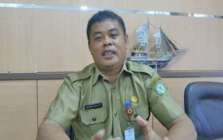 Kepala BKD Kotim Alang Arianto.
