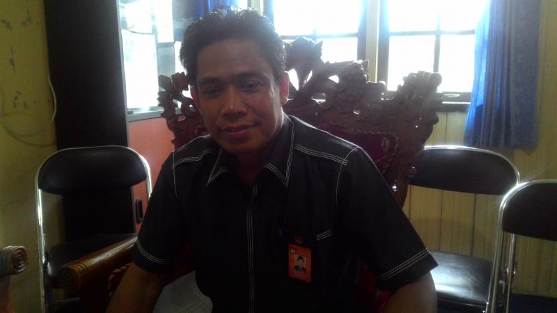 Ketua KPU Kapuas Untung Surapati