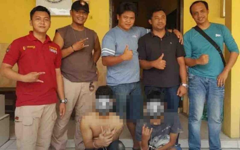 Jual Hasil Kejahatan di Medsos, Penadah dan Pencuri Terciduk, Satu Orang Ditembak