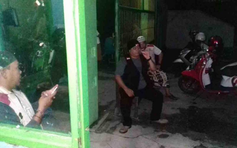 Drone Mengitari Pondok di Malam Hari, Relawan Berjaga di Pesantren Darul Amin