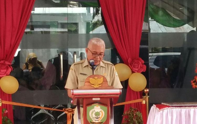 Kepala Dinas Kesehatan Kotim Faisal Novendra Cahyanto.