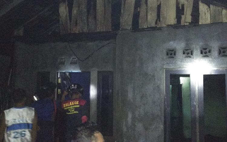 Rumah Warga Ketapang Terbakar