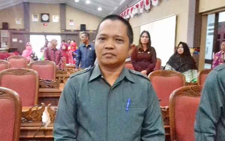 Anggota Komisi II DPRD Kotim H Abdul Kadir.