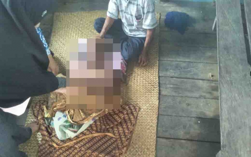 Korban tewas tenggelam di Sungai Mapam Sukamara.