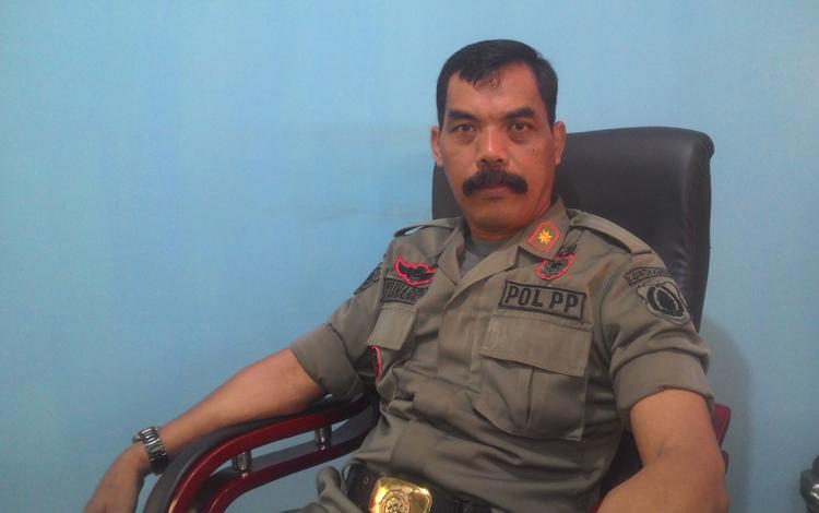 Kepala Dinas Satpol PP Linmas dan Pemadam Kebakaran Kabupaten Kapuas Yunabut.