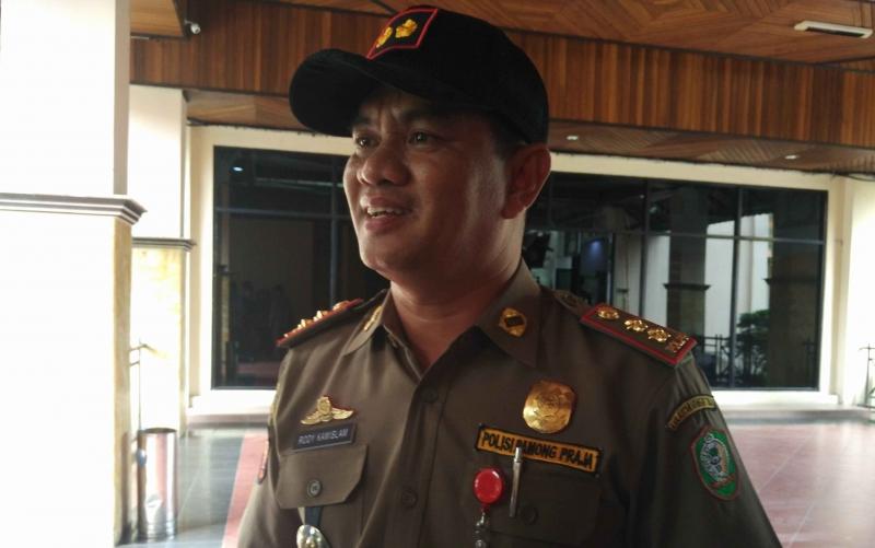Plt Kepala Dinas Satpol PP Kotim, Rodi Kamislam.