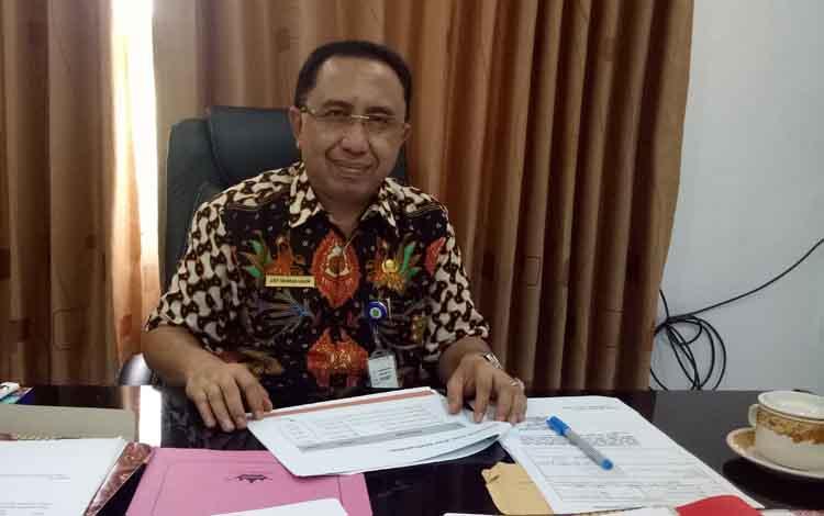 Kepala Dinas Perkim Sukamara Arif Rahman Hakim.