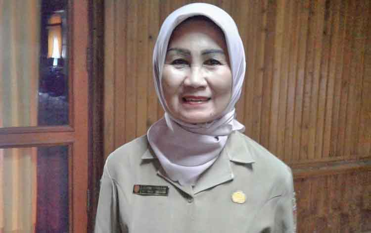 Kepala Dinas Kesehatan Kabupaten Kotawaringin Barat Dwi Ratna.