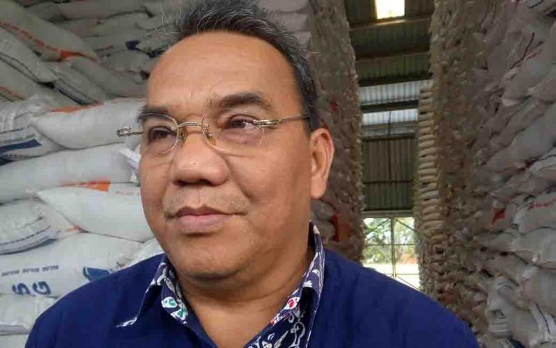 Kepala Dinas Perindustrian dan Perdagangan Kota Palangka Raya, Aratuni  D Djaban.