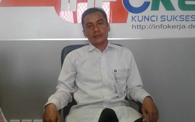 Fungsional Pengantar Kerja Dinas Tenaga Kerja Kabupaten Kapuas Sumanto.