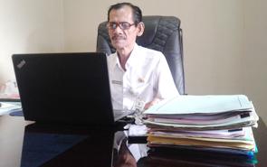 Kabid Pembinaan SD Dinas Pendidikan Kabupaten Kapuas Muhammad Hasan.