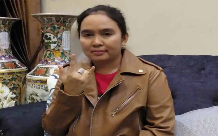 Maryani Sabran Nyaleg DPRD Kalteng Mau Perjuangkan Kaum Perempuan