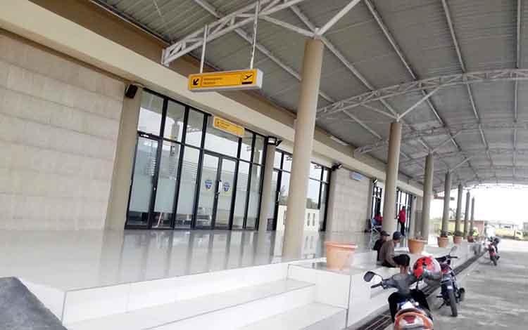 Terminal baru Bandara Kapten Mulyono