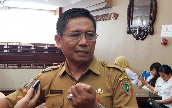Kepala Dinas Pendidikan Provinsi Kalteng Slamet Winaryo.