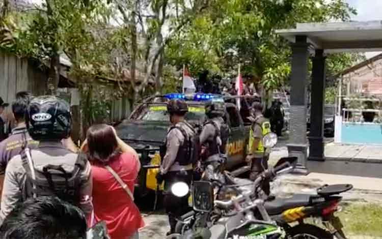 Ini Video Detik-detik Penggerebekan Terduga Teroris di Palangka Raya