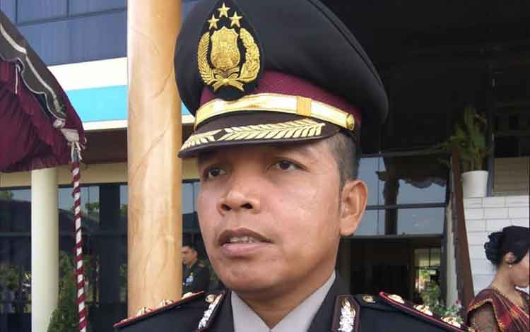 Kapolres Kota Palangka Raya AKBP Timbul R Siregar