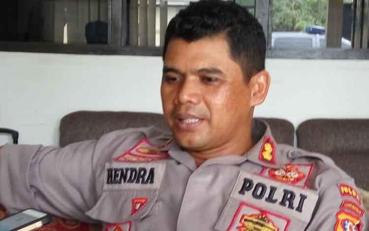 Kombes Pol Hendra Rochmawan saat menegaskan tentang penegakan hukum terhadap kasus pelecehan seksual terhadap PS tidak akan tebang pilih di Mapolda Kalteng, Kamis 5 September 2019.