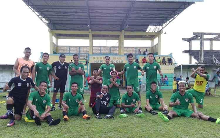 Kalteng Putra sudah berada di kandang PSBS Biak yakni Stadion Cendrawasih, Jumat (14/9/2018).
