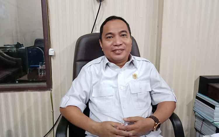 Ketua Fraksi Gerindra di DPRD Kotim Sanidin.