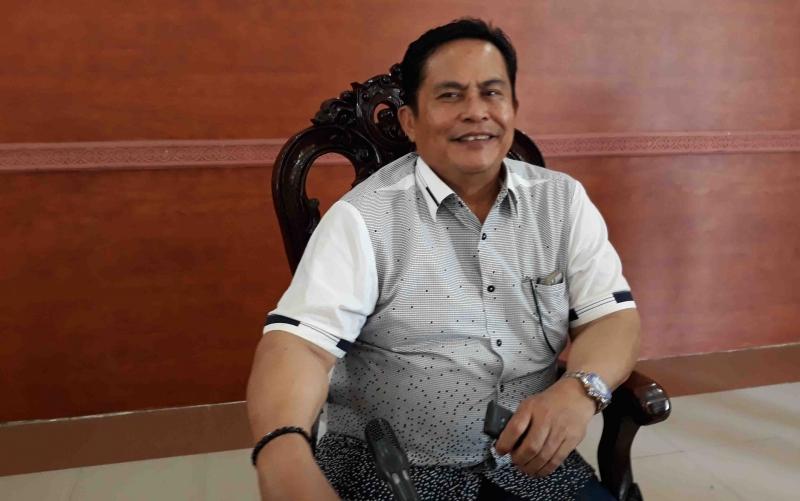 Wakil Ketua I DPRD Kapuas, Robert L Gerung.