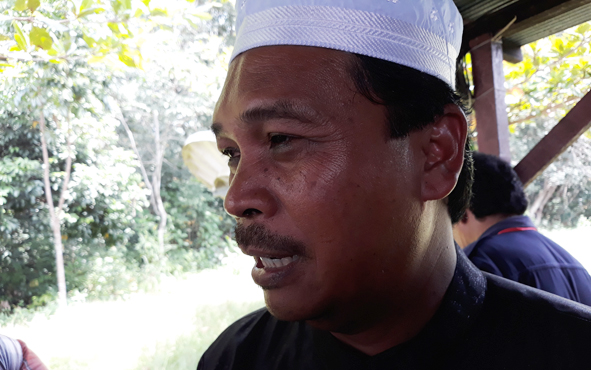 Anggota DPRD Kapuas Ahmad Baihaqi.