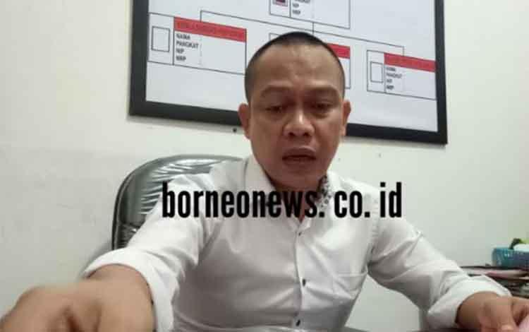 Kepala Seksi Pidana Kusus Kejaksaan Negeri Kabupaten Gunung Mas Herry Santoso