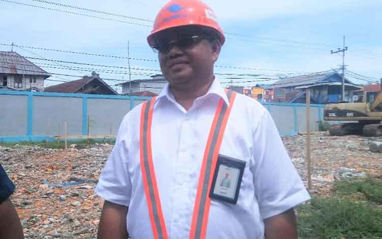 General Manager Terminal Kumai Pelindo III, Syahrial Murjani.