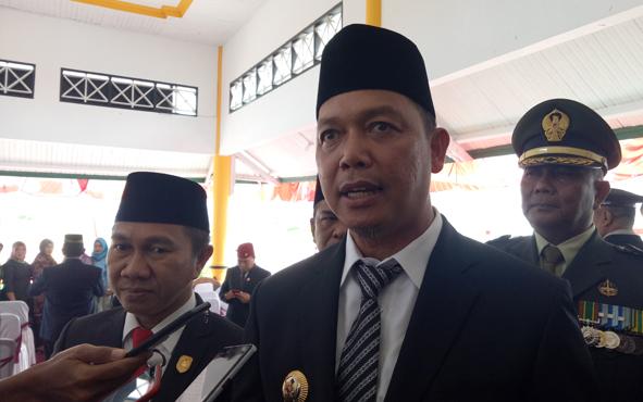 Bupati Sukamara, Windu Subagi berharap para pelaku usaha dan masyarakat bisa terlibat langsung dalam proses pembangunan