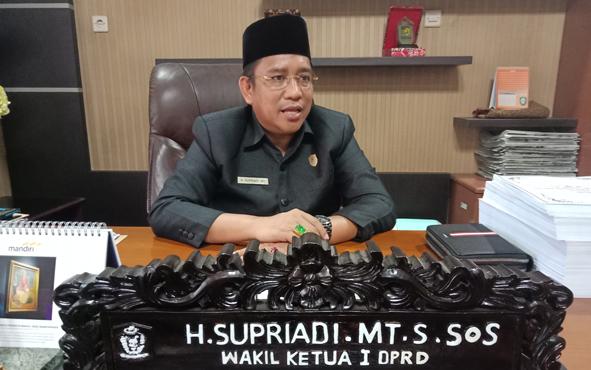 Wakil Ketua DPRD Kotim, Supriadi.