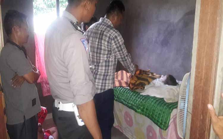 Korban kecelakaan lalu lintas di Kecamatan Tewah, Kabupaten Gunung Mas, Minggu (2/12/2018)