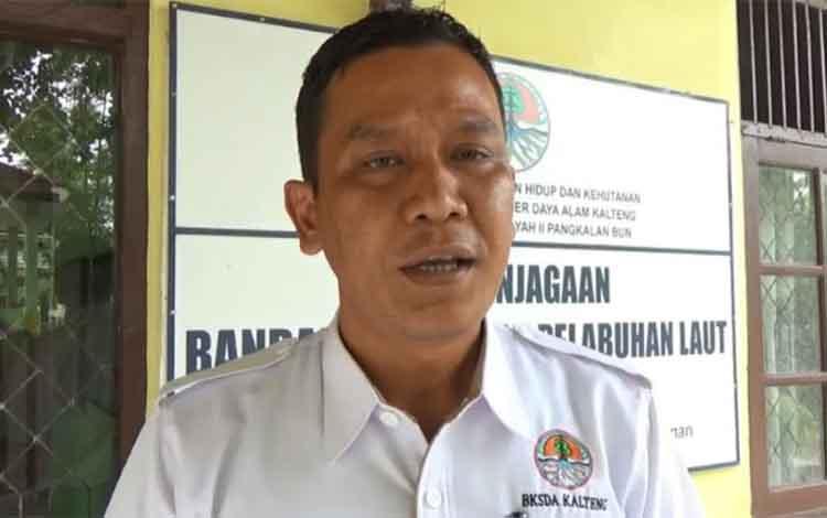 Komandan BKSDA Pos Jaga Sampit, Muriansyah.