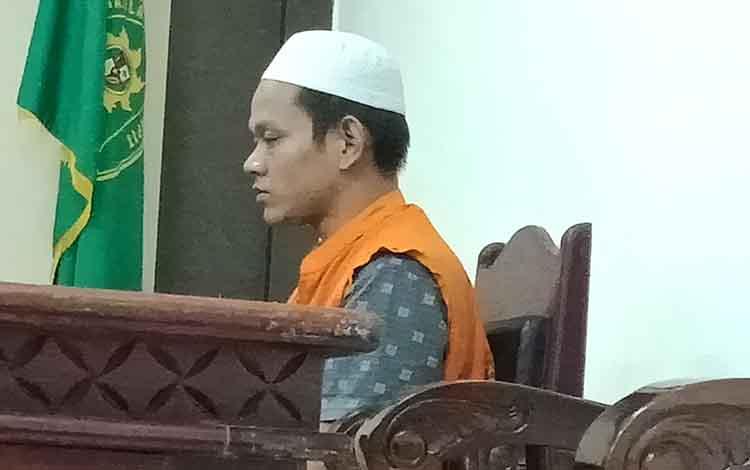 Aji Wahyudi alias Aji terdakwa kasus curanmor