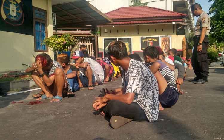 24 anak didata di Polsek Pahandut Palangka Raya