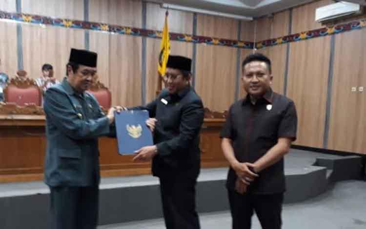Pengesahan raperda RPJMD Kabupaten Kotim