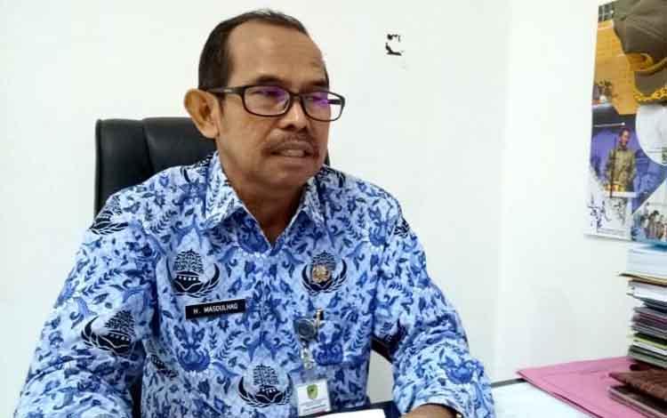 Kepala Dinas Pendidikan Kabupaten Barito Utara, Masdulhaq.