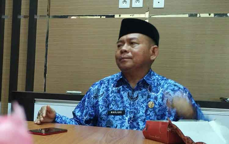 Kepala Badan Pengelola Pendapatan Daerah Kabupaten Kotim Marjuki.