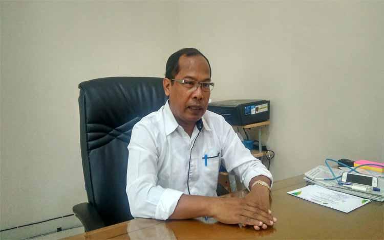 Kepala Dinas Kesehatan Provinsi Kalteng, Suyuti Syamsul