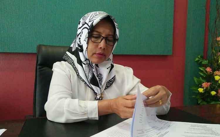 Kepala BKPP Kobar Aida Lailawati