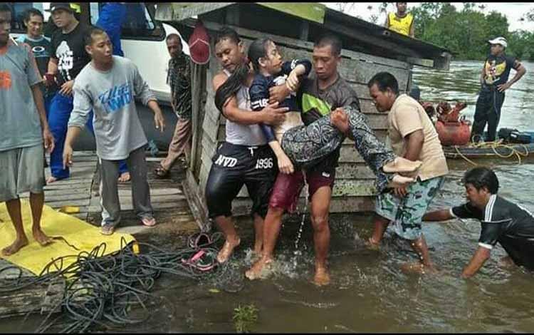 Korban berhasil ditemukan di Sungai Jelai
