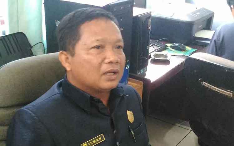 Anggota DPRD Kabupaten Gumas, Iswan B Guna.