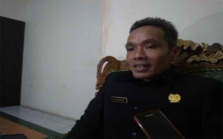 Ketua Komisi I DPRD Kabupaten Bartim, Janjo Briano