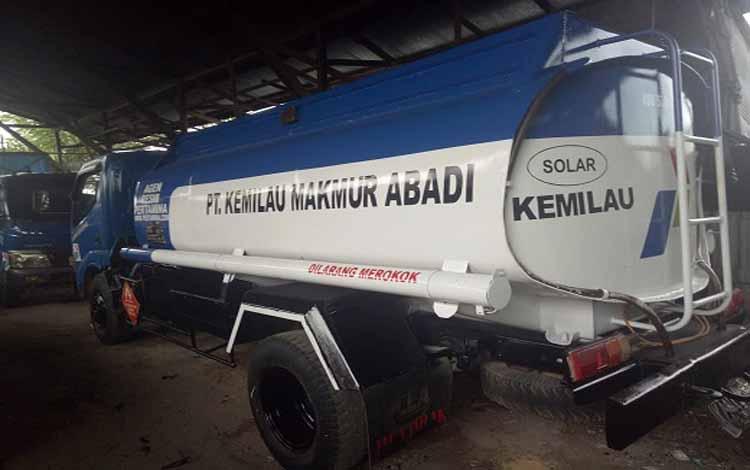Truk PT BKDS yang dieksekusi Pengadilan Negeri Sampit