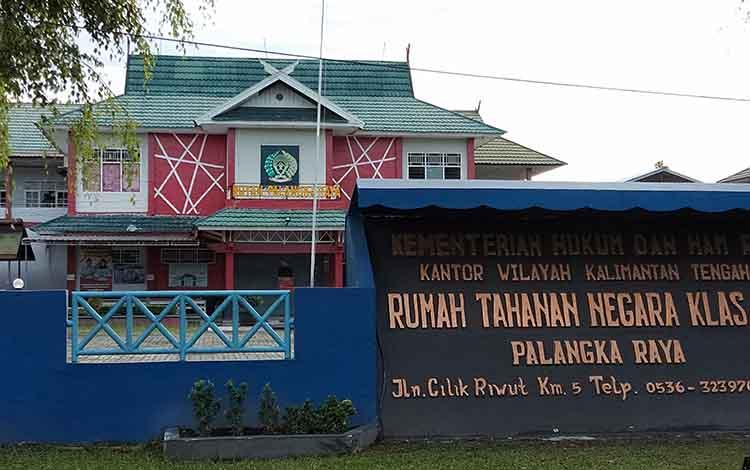 Rutan Kelas IIA Palangka Raya tempat mantan bupati Katingan Akhmad Yantenglie ditahan.