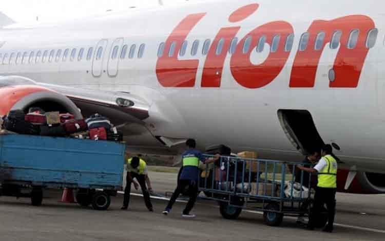 Aktivitas penerbangan di Bandara Tjilik Riwut Palangka Raya