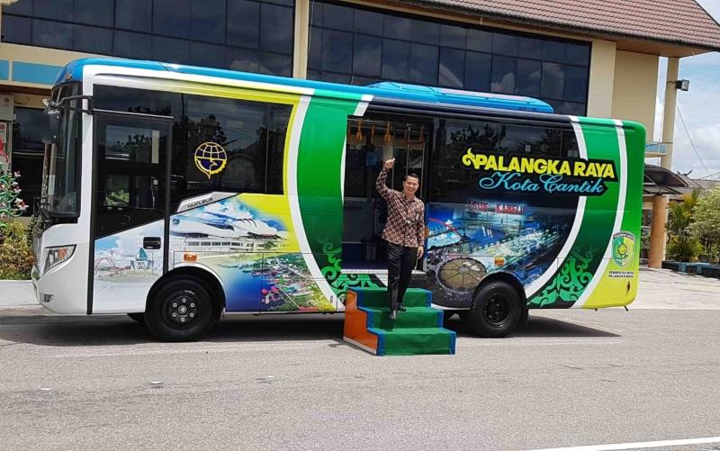 Bus Rapid Transit di Palangka Raya.