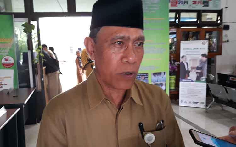 Kepala Kemenag Kapuas, Ahmad Bahruni.