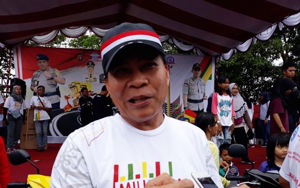 Ketua DPRD Kapuas Algrin Gasan.
