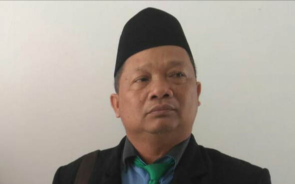 Anggota DPRD Gumas Iswan B Guna.